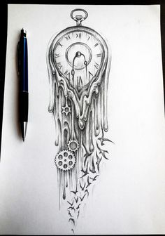 hourglass tattoo drawings - Google Search - Tattoos Are Great