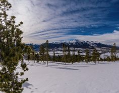 Colorado Winter, New Work, Behance, Mountains, American, Gallery, Check, Nature, Photography