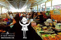 ¿Que hacer un domingo? ¡Pues qué va a ser! Ir al barrio de Sant Antoni de Barcelona para disfrutar de los libros que cada domingo te brinda el Mercado Dominical.