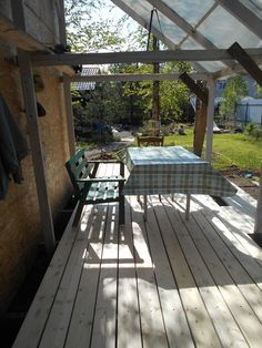Веранда Outdoor Furniture, Outdoor Decor, Pergola, Outdoor Structures, Home Decor, Decoration Home, Room Decor, Outdoor Pergola, Home Interior Design