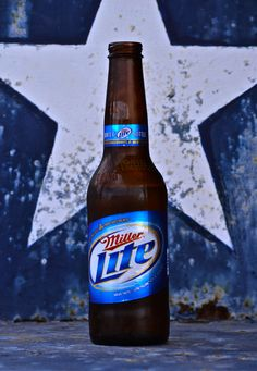 I don't always drink beer, but when I do, its Miller Lite Miller Lite, Dallas Cowboys Football, Photography Classes, Light Beer, Wine And Beer, Flower Pictures, Taking Pictures, Beer Bottle, Liquor