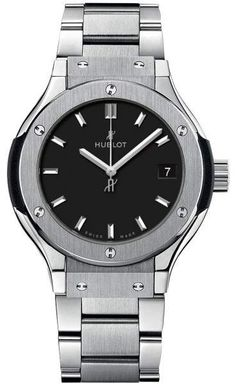 Hublot 581.nx.1171.nx Classic Fusion Quartz Titanium 33mm Mens Watch