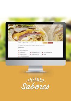 BRONZE  Mejor Website: creandosabores.com / Cliente: Digital Nuts / Estudio-Agencia: Glue.gl | Nº 124