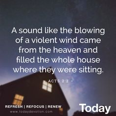 THE HOLY SPIRIT AS WIND