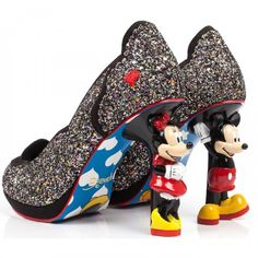 Irregular Choice, Mickey and Friends, Minnie Mouse, character heel pump, 39