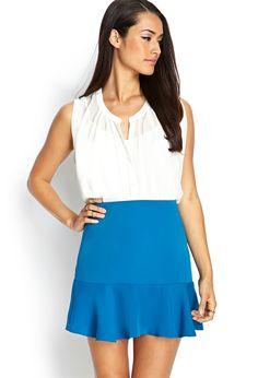 Ruffled Mini Skirt | FOREVER21 #F21Contemporary #SummerForever