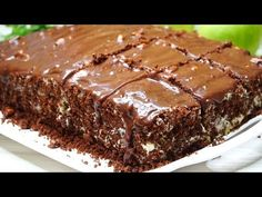 Bombic Home-made CAKE, does not need impregnation! With every… – Healthy Meals Vegetarian Desserts, Greek Desserts, Easy Healthy Dinners, Healthy Dinner Recipes, Mango Cheesecake, Homemade Cakes, Baked Goods, Bakery, Food And Drink