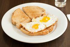 Toasties - Fried Eggs on Toast