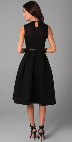 Preen By Thornton Bregazzi Ebony Dress