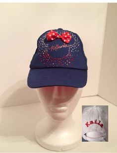 Disney Minnie Mouse Toddler Baseball Hat - Personalized by CACBaskets on Etsy
