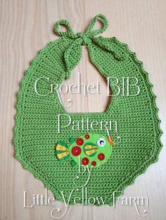Ravelry: Crochet BIB Pattern pattern by Little Yellow Farm