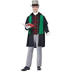 This Christmas sing out your favorite songs around the block in a caroler costume. Dress up your whole family too. Find the best Christmas caroler costumes.