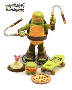Teenage Mutant Ninja Turtles Series 2 Mini-Figure Chris Bradford