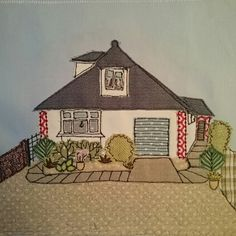 House portrait by Sewn by Collette