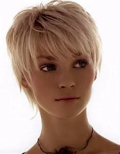 Great soft appeal radiating from this layered wispy bob.