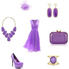 """Lilac mood"" by besyata on Polyvore"