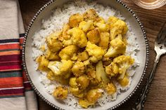 Aloo Gobi (Potatoes and Cauliflower)