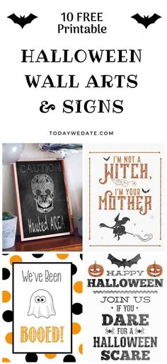 63 Free Halloween Printables That Are Just Awesome Holidays - free halloween decorations printable