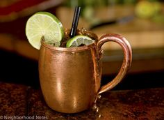 Moscow Mule at The Gilt Club