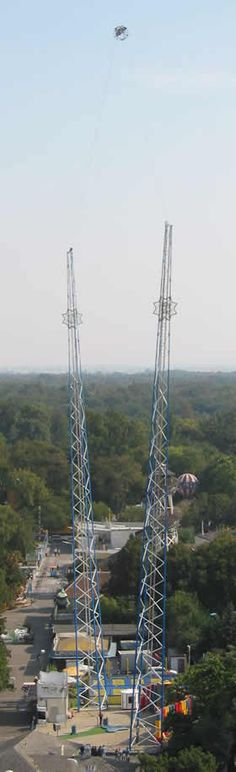 Get an adrenaline rush by riding one of the tallest Sling Shot's in the world!