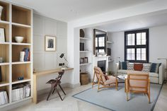 Gallery of Lambeth Marsh House / Fraher Architects - 2 CHAIRS // JOINERY