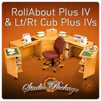 CubPlus lV Left Hand/RollAbout Plus lV/Cub Plus lV Right Hand Studio Suite  -- I think this is the one (set) I would love to have.  Need to start saving my money though.