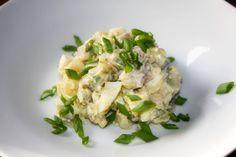 Sałatka śledziowa ze szczypiorkiem Polish Recipes, Polish Food, Potato Salad, Potatoes, Ethnic Recipes, Potato