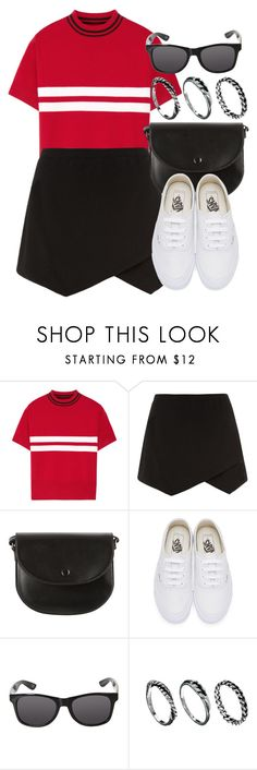 """""""Sin título #12481"""" by vany-alvarado ❤ liked on Polyvore featuring Tim Coppens, Vans and DesignSix"""