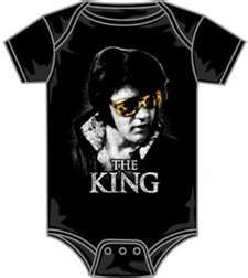 Elvis onsie, something my Papa will buy for his great grandkids one day. :)