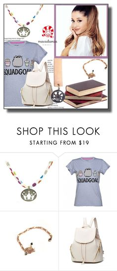 """""""Macadamia Jewels-10"""" by dzemila-c ❤ liked on Polyvore featuring Pusheen"""