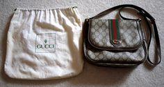 Authentic Vintage Gucci Crossbody