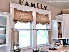 Beach Theme Kitchen Curtains