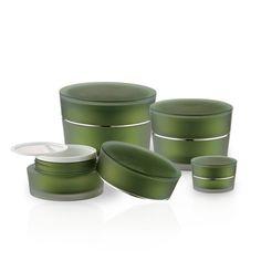 J23 Oval Acrylic Jars