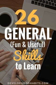 Check out this new skills to learn list and find out which great skills to learn. #learn #learning #education #purpose #productivity #success #personalgrowth #selfimprovement #personaldevelopment