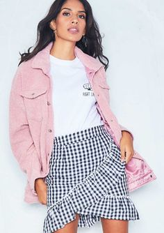Beatrice Pink Faux Teddy Bear Jacket