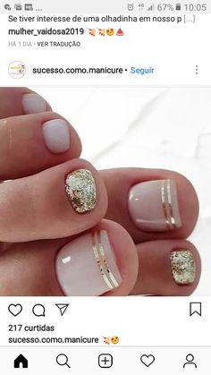 Toe Nail Color, Toe Nail Art, Nail Polish Colors, Toe Nails, Toe Nail Designs, Acrylic Nail Designs, Acrylic Nails, Pedicure Nails, Mani Pedi