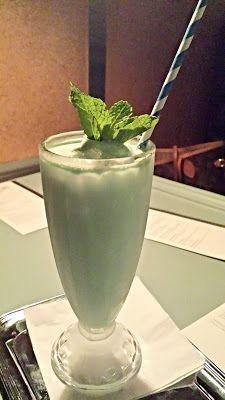 Grasshopper, Cremes de menthe et cacao, vanilla ice cream, Fernet Branca and sea salt.  Pépé Le Moko Portland - First Looks - Pechluck's Food Adventures
