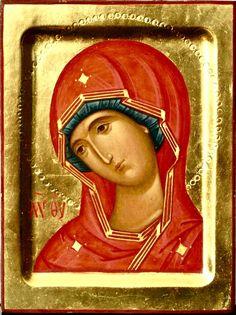 Theotokos by Anton & Ekaterina Daineko
