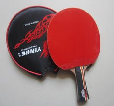 [Visit to Buy] Original Galaxy yinhe 04b table tennis rackets finished rackets racquet sports pimples in rubber ping pong paddles #Advertisement