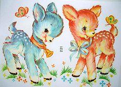 vintage forest babies
