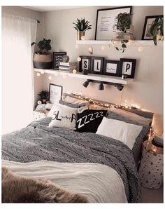 Room Ideas Bedroom, Small Room Bedroom, Small Rooms, Modern Bedroom, Bedroom Decor, Bedroom Bed, Trendy Bedroom, Budget Bedroom, Bed Room