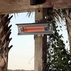 Fire Sense Indoor/Outdoor Wall-Mounted Infrared Heater-p