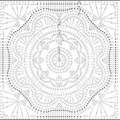 Learn to Crochet – Crochet Wave Fan Edging. How I made this wave fan edging border stitch. Crochet Squares, Motif Mandala Crochet, Point Granny Au Crochet, Crochet Doily Patterns, Granny Square Crochet Pattern, Crochet Diagram, Crochet Designs, Crochet Blocks, Crochet Stitches