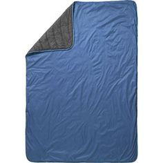 When it's to hot to crawl into a sleeping bag... here's a budget friendly alternative. The Thermarest Tech Blanket for $50