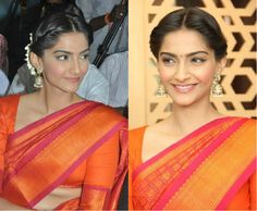 sonam_kapoor_hairstyles_with_sarees