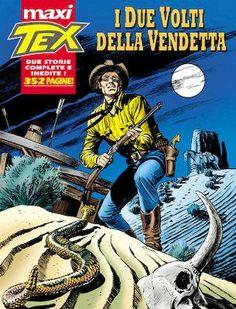 Tex Willer - Maxi N.4 - I due volti della vendetta - Scitum
