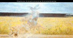 In the Dust Storm 1893 - Jacek Malczewski