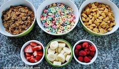 DIY Cereal Bar