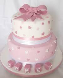 Resultado de imagem para christening cakes