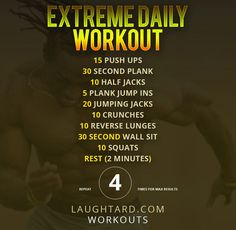 Extreme Daily Workout